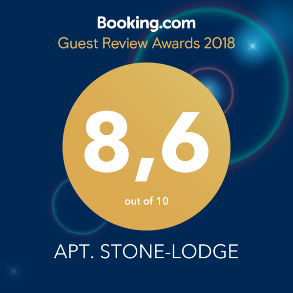 Booking.com Guest Review Awards 2018 banner